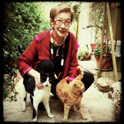 Raphaella Bilski and cats
